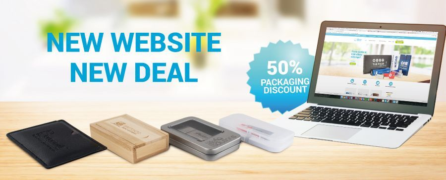 50% discount on packaging!