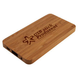 Wooden Slim - Powerbank
